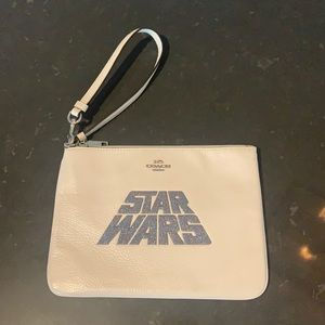 Coach X Gallery Star Wars large pouch wristlet
